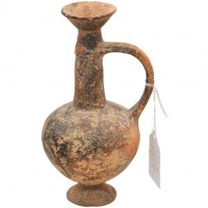 Late Bronze Age Clay 'Bilbil' Medicine Jug – Found in Israel