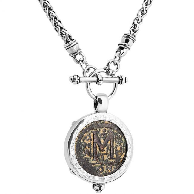 byzantine ancient coin necklace 2