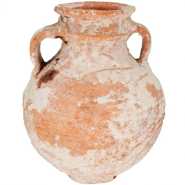 Cooking Pot Iron Age Biblical pottery