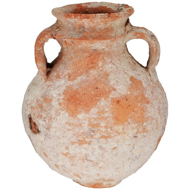 Cooking Pot Iron Age Biblical pottery 1