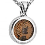 Constantine Coin in Pendant