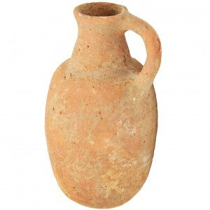 Authentic Iron Age Clay Perfume Jug – Discovered in Jerusalem