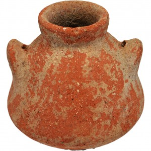 Iron Age II Clay spice Jug 925-586 B.C – Discovered in Jerusalem