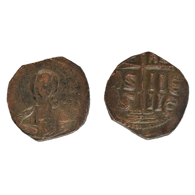 jesu king of kings ancient coin