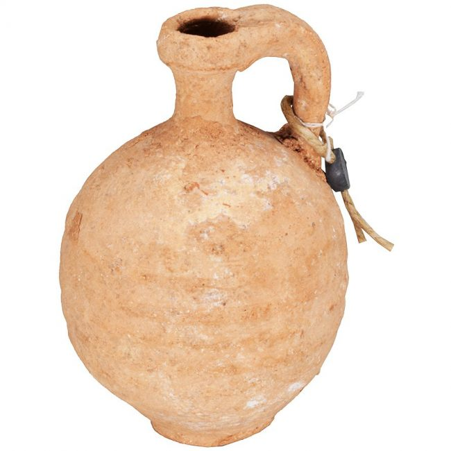 Clay Herodian Oil Container - 1st Century