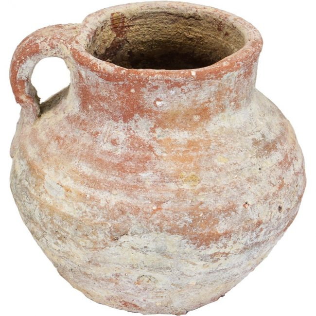second temple pottery water cup b