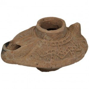 Islamic Period clay Oil lamp