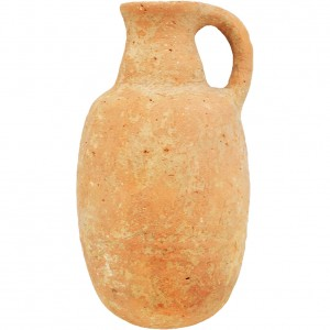 Iron Age Clay Jug – Found in Jerusalem
