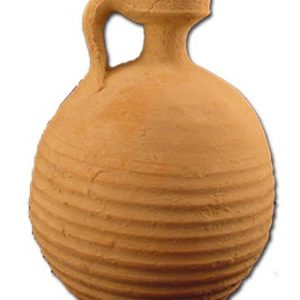 Clay Herodian Oil Container – 1st Century – Found in Jerusalem