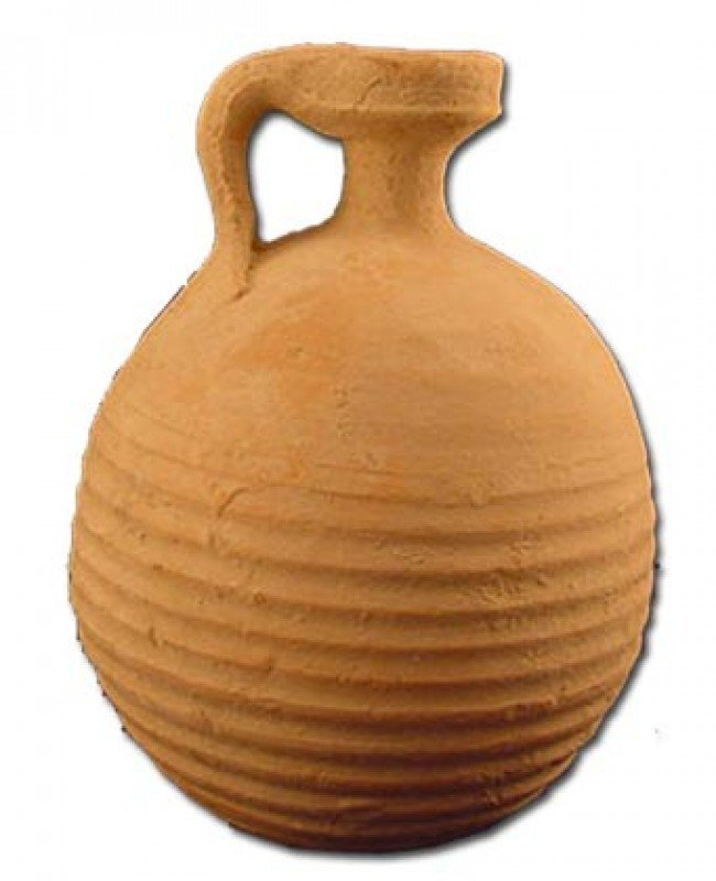 Clay Herodian Oil Container