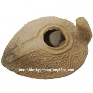 Islamic Period Clay Oil Lamp – 8th Century A.D. – Discovered in Akko