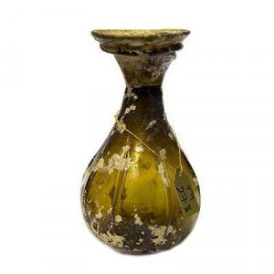 Roman Glass Perfume Brown Bottle