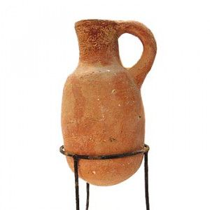 Authentic Iron Age Jug (1200-925 B.C) – Found in Jerusalem – 13cm