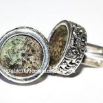Authentic Widow's Mites set in Silver Cuff Links