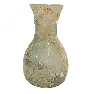 Late Roman Glass Perfume Jar