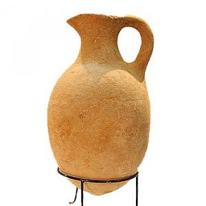 Clay Pitcher from Time of King David – Iron Age – Found in Jerusalem