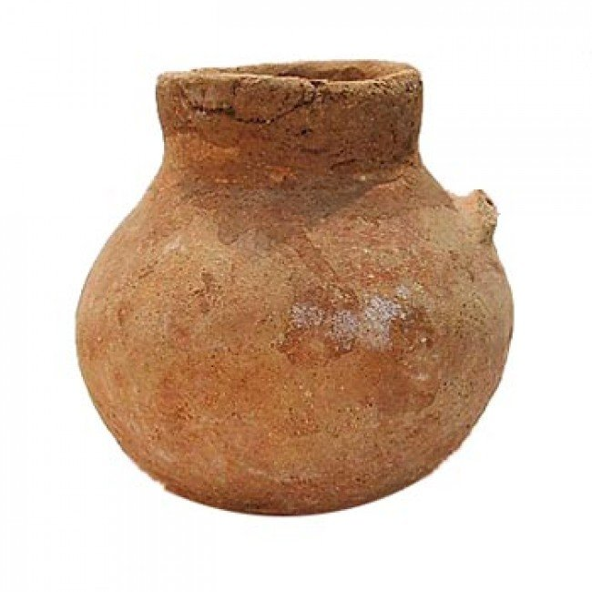 Early Bronze Terracotta Cup - Discovered near the Dead Sea