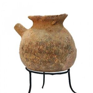 Early Bronze Age Terracotta Teapot (3330-2300 B.C.) – Found in Israel