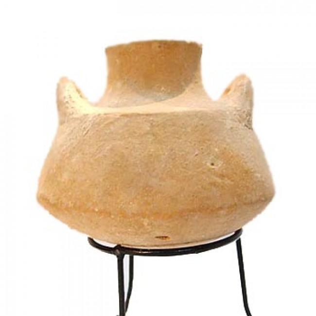 Iron Age II Clay Honey Jug