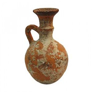 Iron Age II Ancient Clay Perfume Jug – Discovered in Jerusalem