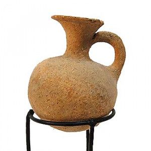 Genuine Hellenistic Perfume Jug (333-63 B.C.) Discovered in Jerusalem