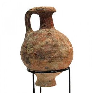 Hellenistic Period Oil Juglet (333-63 B.C) – 13 cm – Found in Jerusalem