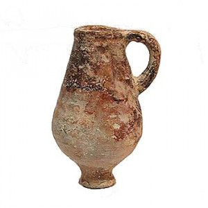 Ancient Hellenistic Period Oil Jar (333-63 B.C.) Discovered in Israel