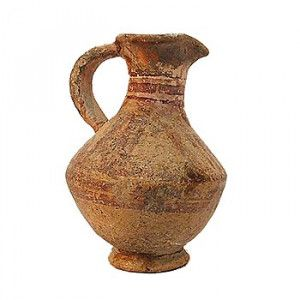 Byzantine Clay Wine Jug 500 – 650 A.D. – Holy Land Antiquity