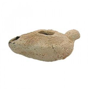 Islamic Oil Lamp from Jericho