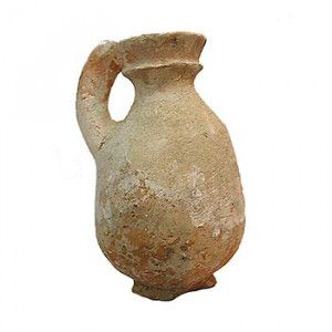 Genuine Roman Period Small Clay Water Pitcher – Found in Israel