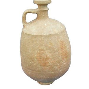 Israelite Iron Age Terracotta Wine Decanter (1000-800 B.C.)