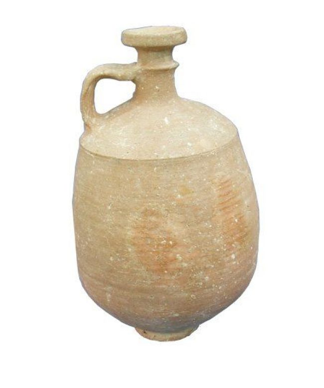 Wine Decanter - Israelite Iron Age Terracotta