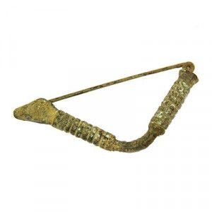 Roman Fibula – Ancient Broach Clothes Pin – 1st-3rd Century A.D