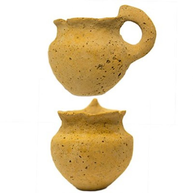 Early Bronze Age Clay Cup