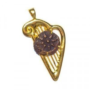 Genuine Widow's Mite in 14k Gold – David Harp Pendant