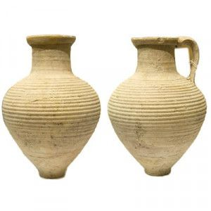 Herodian Clay Jug Used For Wine