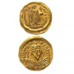 ancient Byzantine coins from Jerusalem