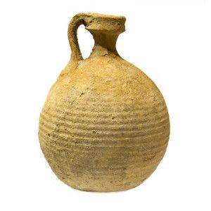 Ancient Herodian Pottery Jug From The Time Of Jesus