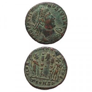 Constantine the Great Coin (330 AD)