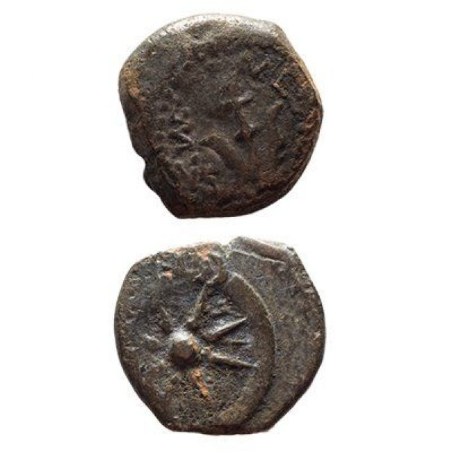 ancient jewish coin the widow's mite