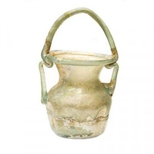 Roman Glass Jar used for Anointment – Found in Samaria