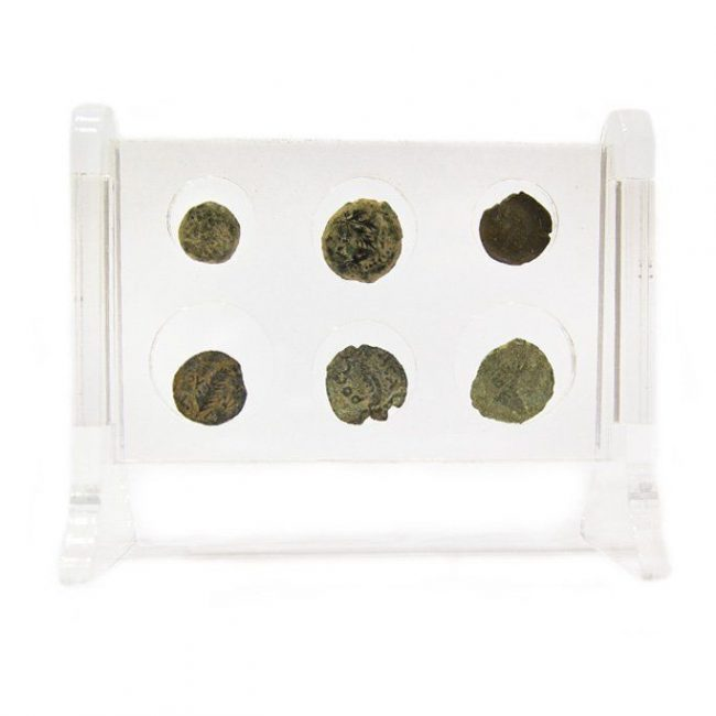 Set of coins mentioned in the Bible