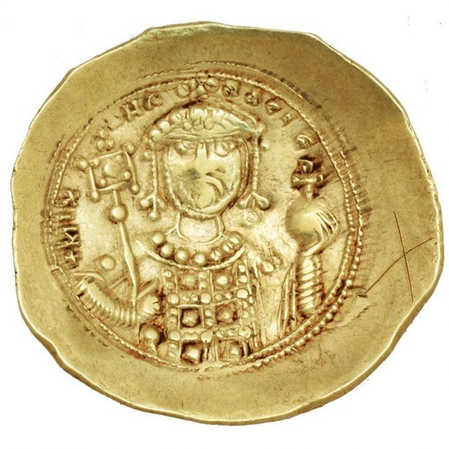 Byzantine Empire Gold Coin