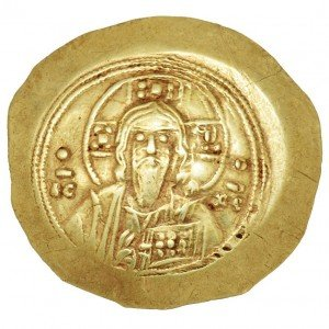Byzantine Empire Gold Coin – 8th Century Christian Coin