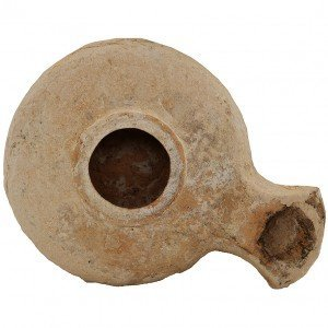 Ancient Herodian Jesus time oil lamp – Discovered in Jerusalem