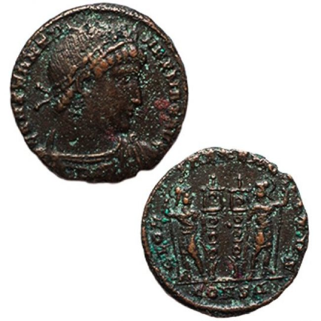 Constantine the Great Bronze Coin