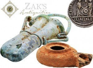 Start collecting Antiquities from Israel