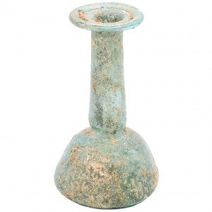 Ancient Roman Glass Tear Bottle from the First Century A.D.