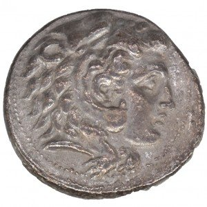 Greek Silver Tetra Drachma Coin of Alexander the Great