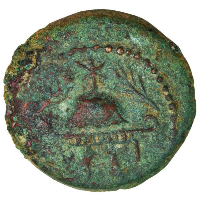 Herod the great bronze coin